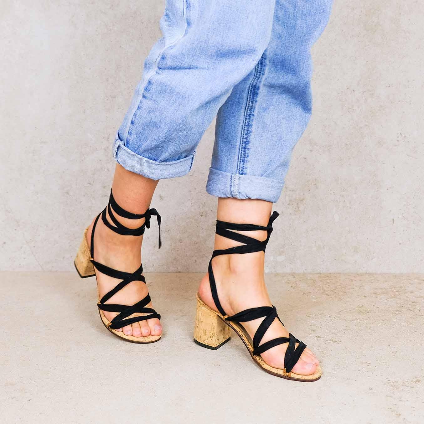 Camila2-lintsandalen sandals travelsandals vegan sustainable sandals wikkelsandalen