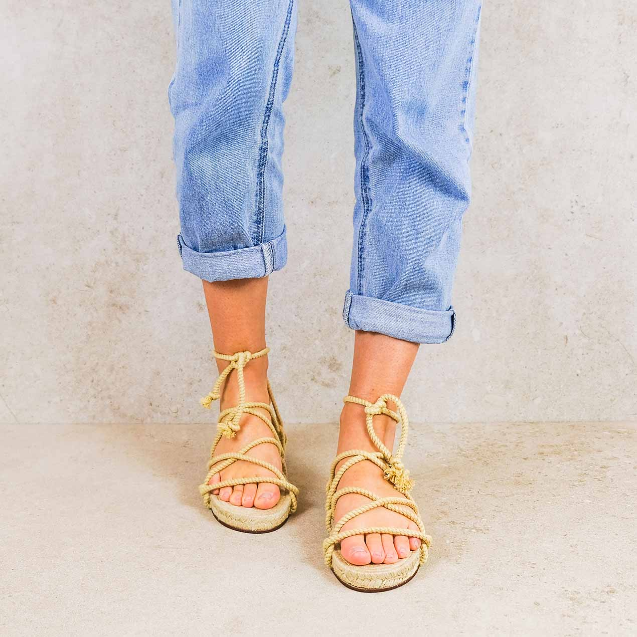 Cruz-low_lintsandalen sandals travelsandals vegan sustainable sandals wikkelsandalen