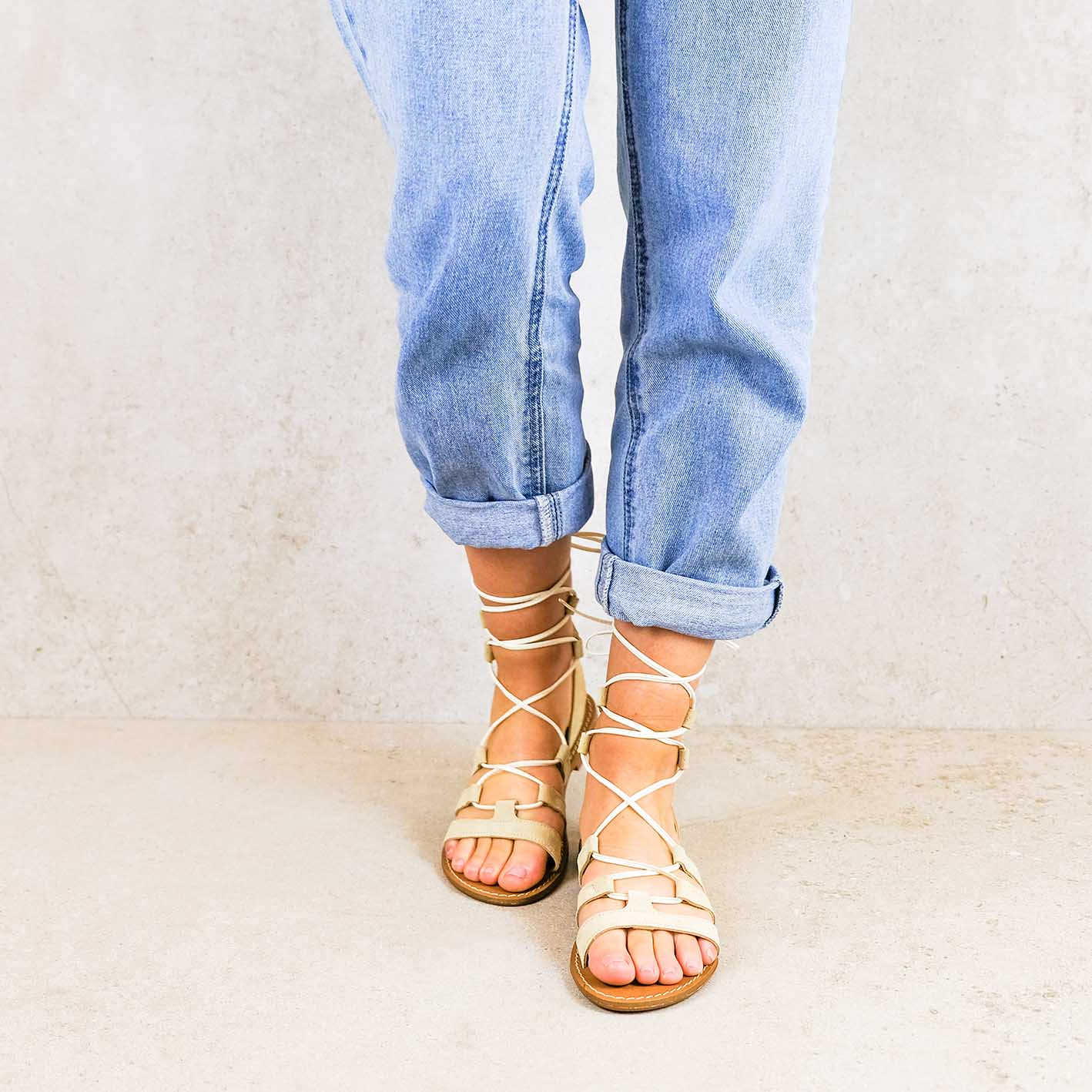 Fe-ivory_lintsandalen sandals travelsandals vegan sustainable sandals wikkelsandalen