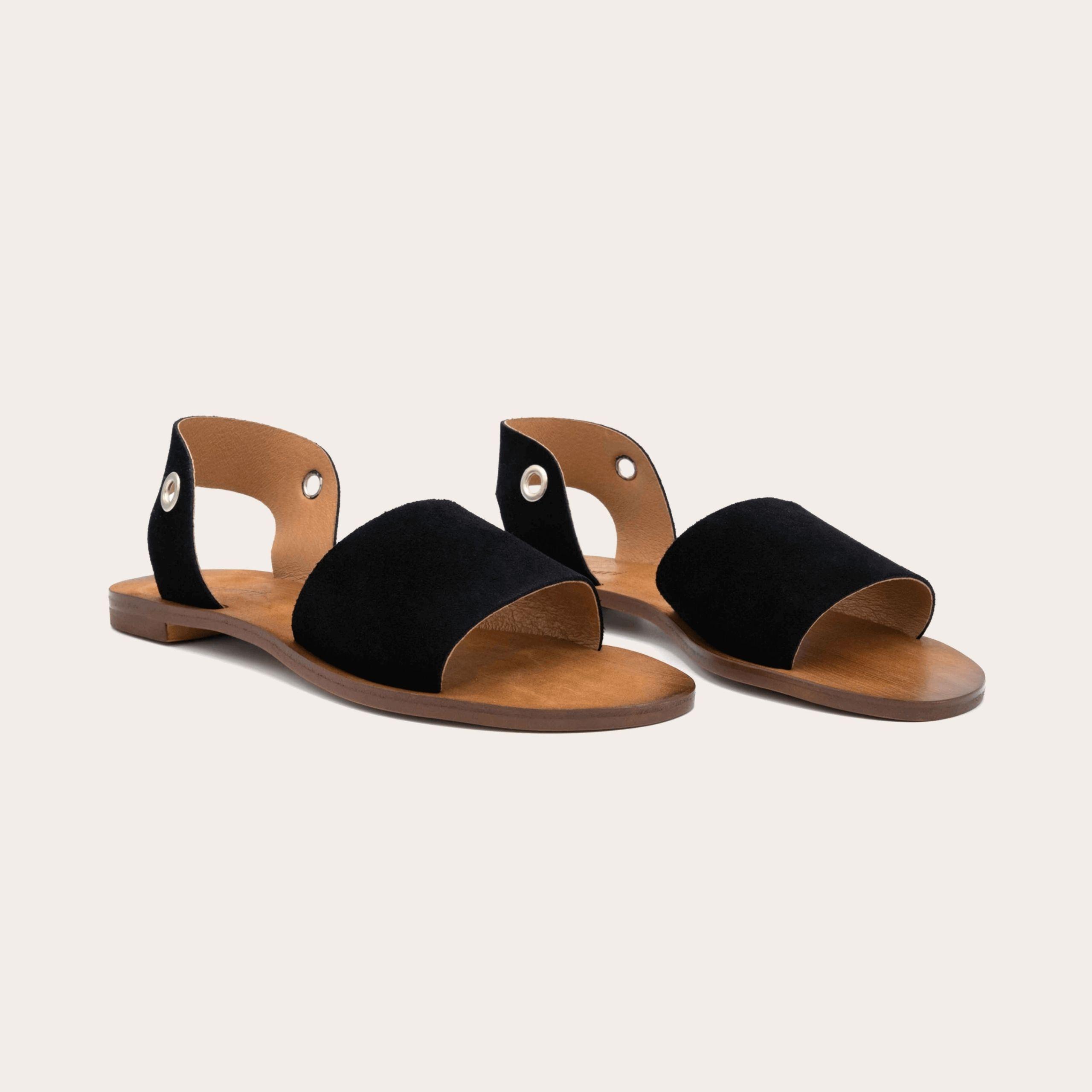 acapulco-black_2_lintsandalen sandals travelsandals vegan sustainable sandals wikkelsandalen