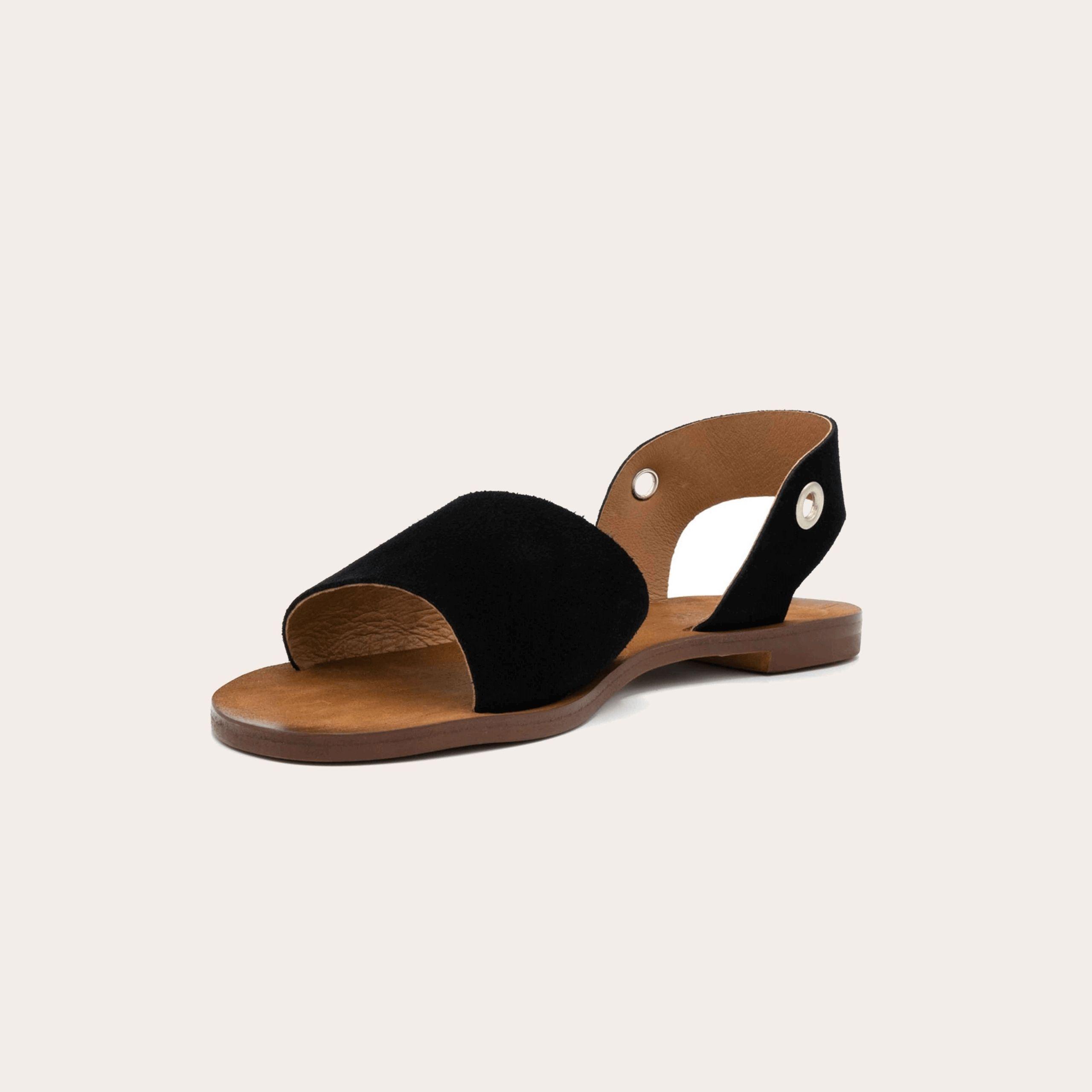 acapulco-black_4_lintsandalen sandals travelsandals vegan sustainable sandals wikkelsandalen