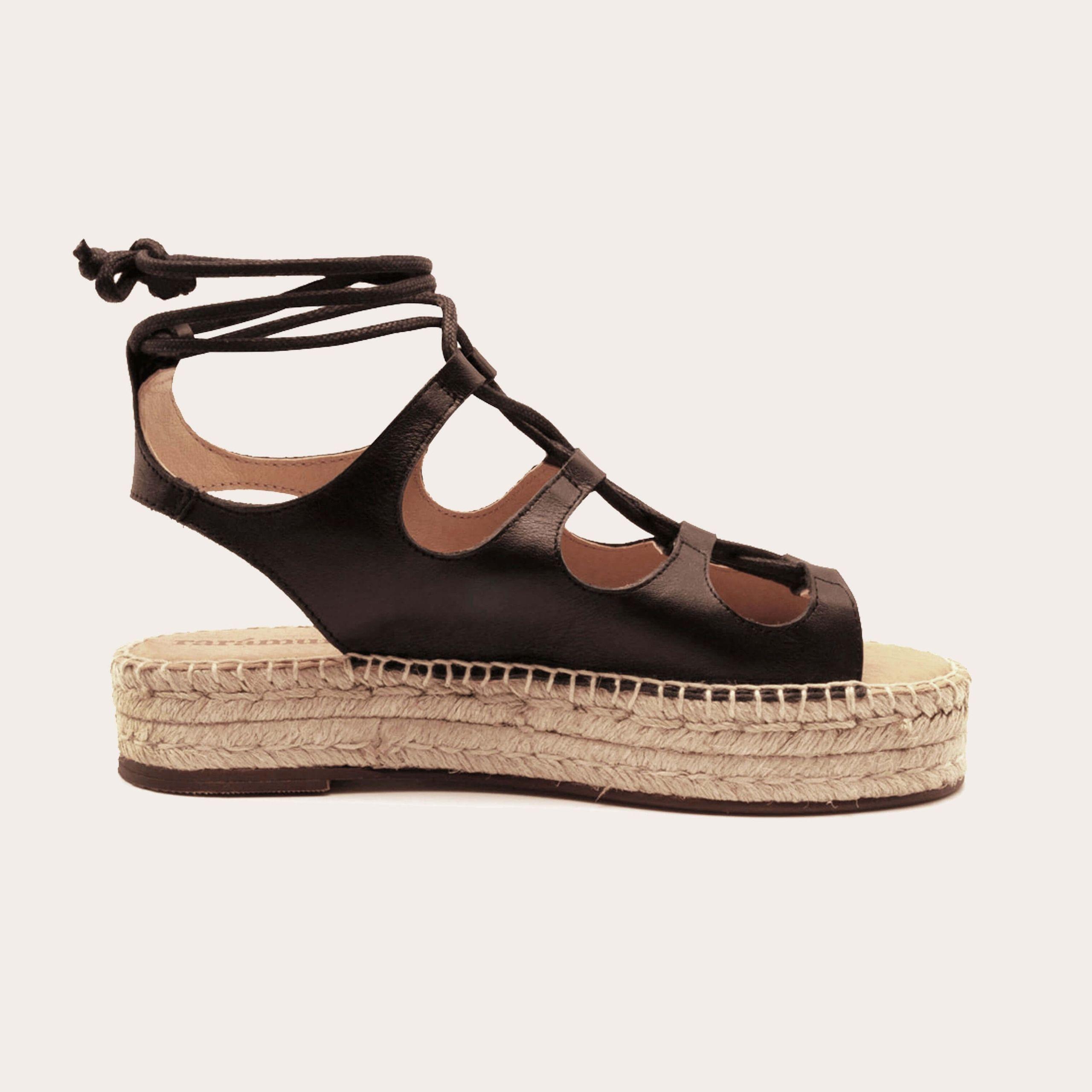 rafa-black_1_lintsandalen sandals travelsandals vegan sustainable sandals wikkelsandalen