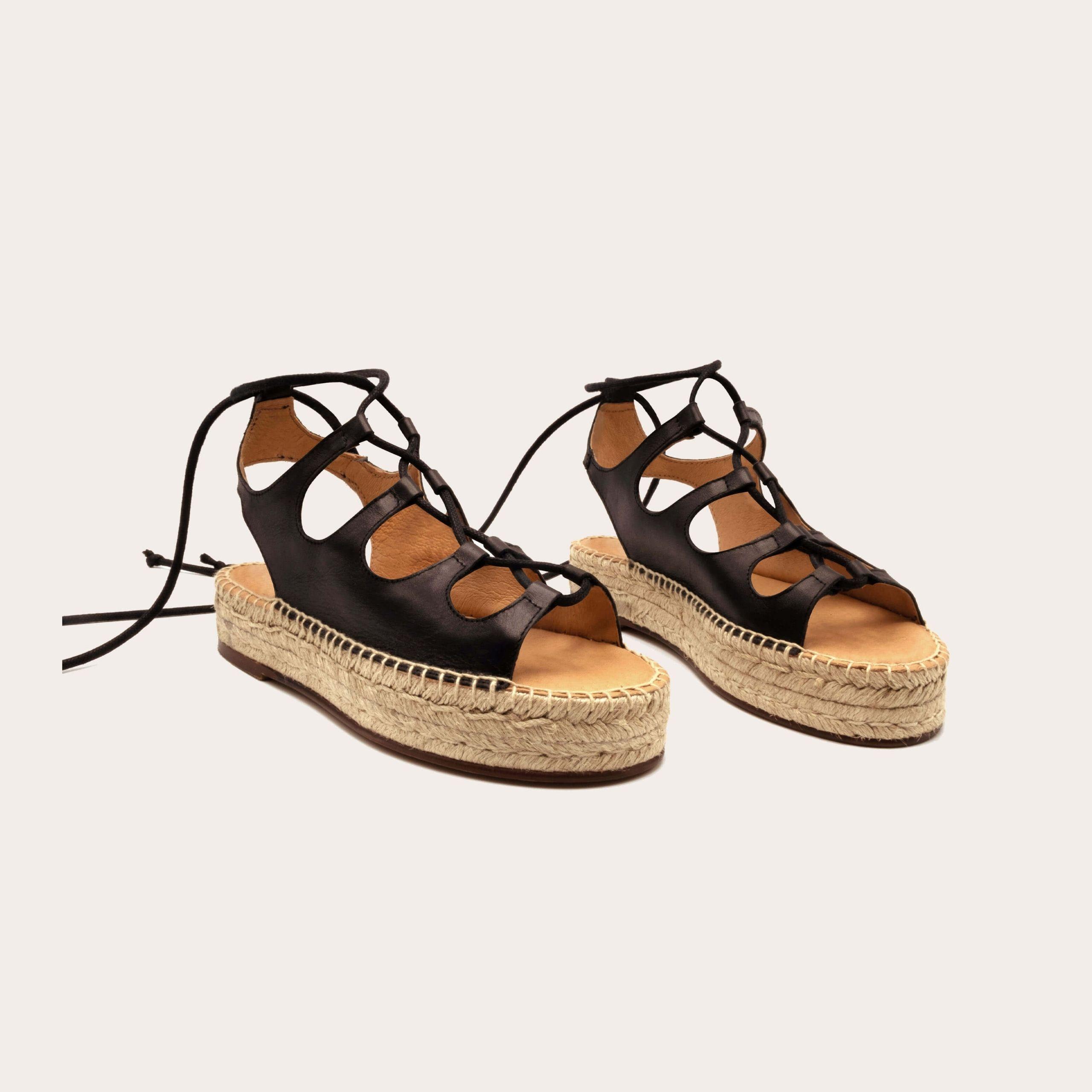 rafa-black_2_lintsandalen sandals travelsandals vegan sustainable sandals wikkelsandalen