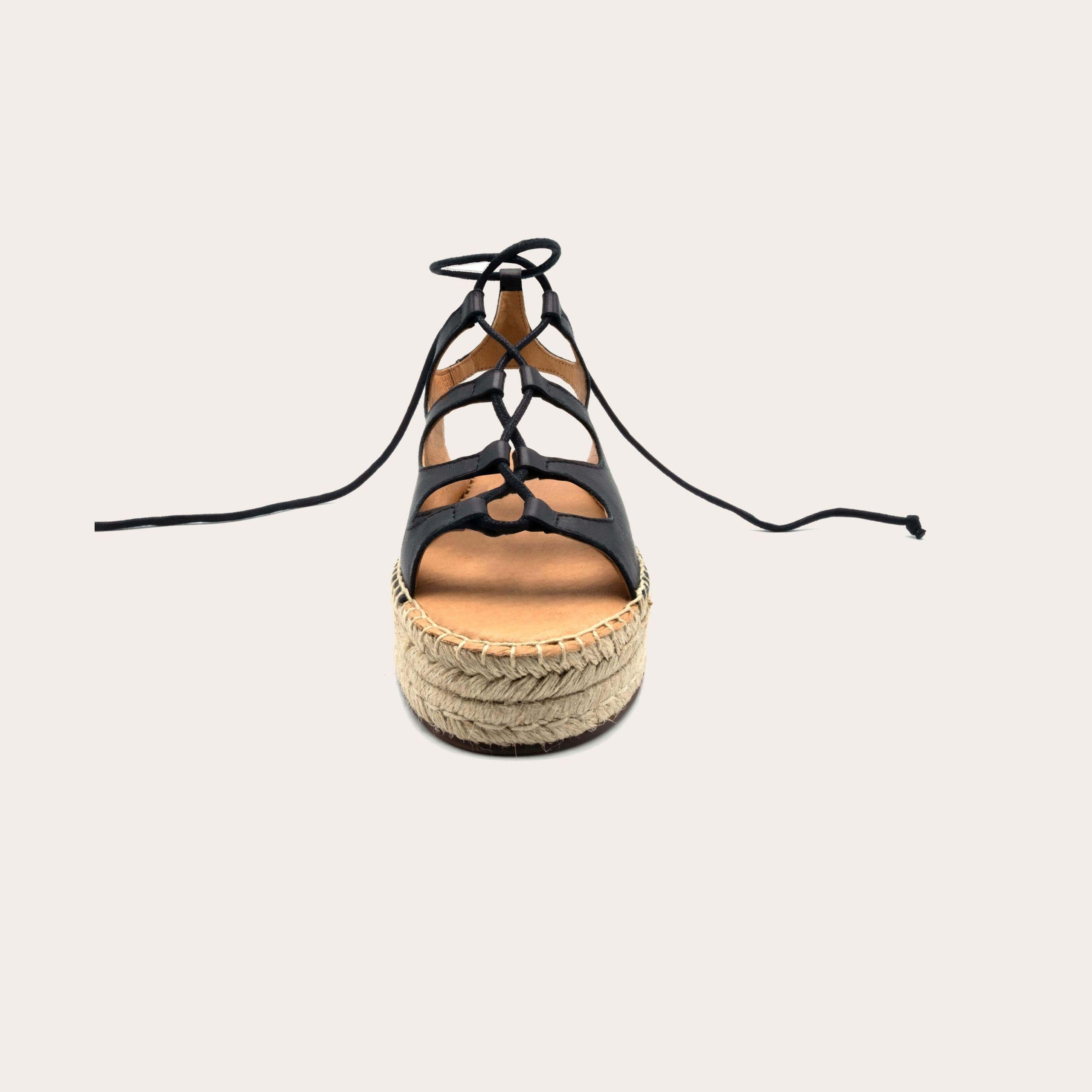 rafa-black_3_lintsandalen sandals travelsandals vegan sustainable sandals wikkelsandalen