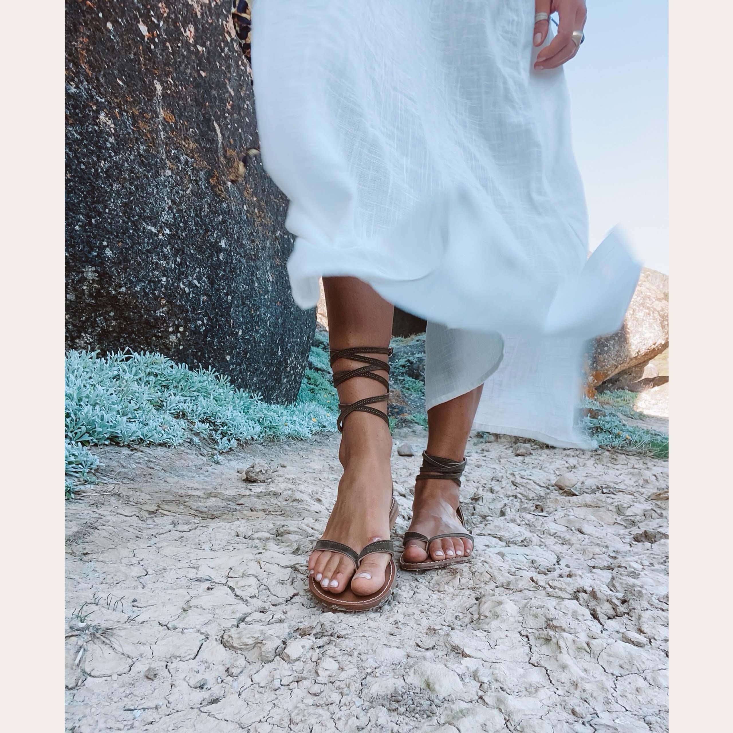 sierra-khaki_lintsandalen sandals travelsandals vegan sustainable sandals wikkelsandalen kopiëren